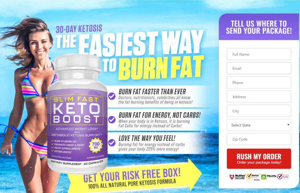 Slim Fast Keto Boost 1