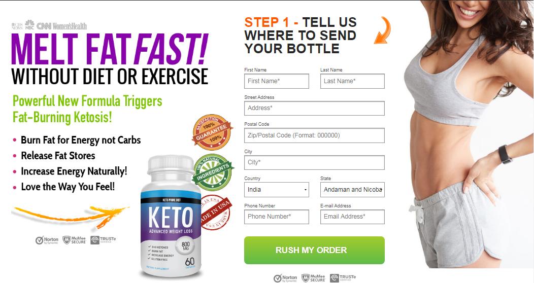 keto prime diet order